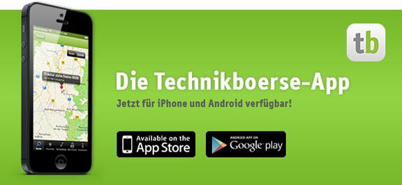 Technikboerse Apps