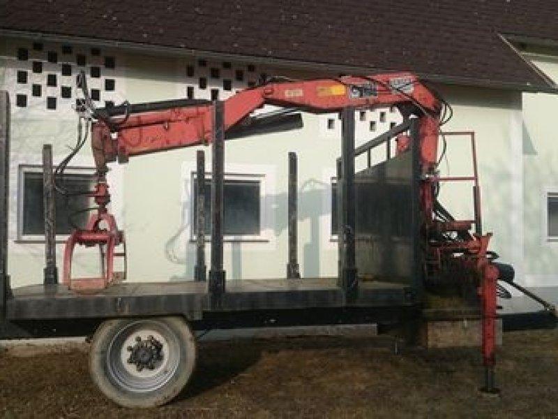 Sonstige Hiab Kran Eigenbau Rückewagen & Rückeanhänger