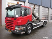 Scania P 380 6X2 Euro 5 Abrollcontainer