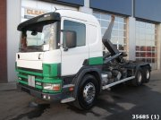 Scania P 114.380 6x4 Retarder Manual Full steel Abrollcontainer