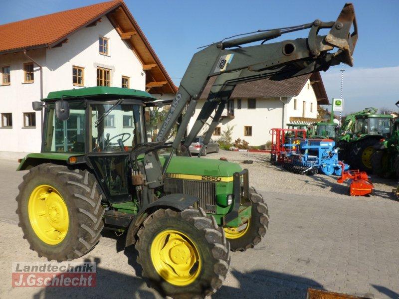 John deere mit frontlader hg traktor mühldorf
