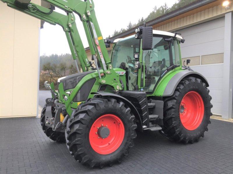 Fendt 516 s4 profiplus mit frontlader cargo 4x75 profi traktor