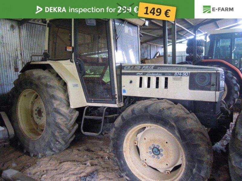 lamborghini 874 90 traktor 04510 le chaffaut st jurso. Black Bedroom Furniture Sets. Home Design Ideas