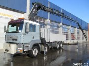 MAN TGA 41.430 BB 8x4 Hiab 80 ton/meter Kran + Fly-Jib and Front out LKW