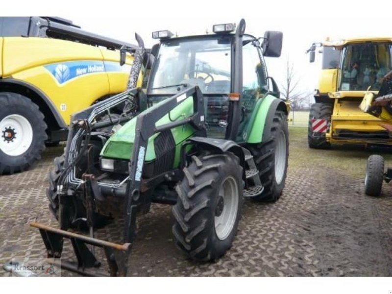 Deutz fahr agrotron mit frontlader traktor technikboerse at