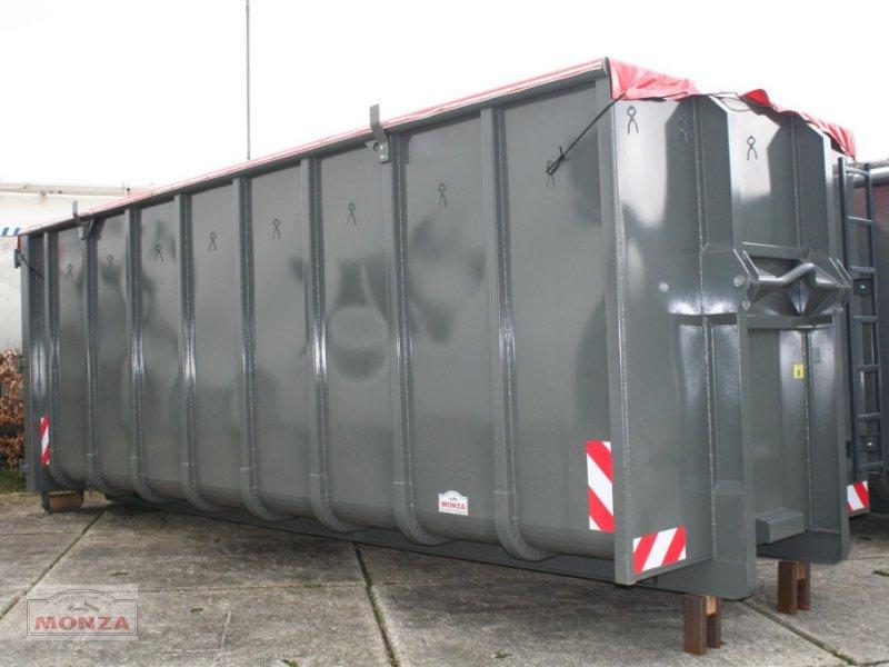 monza container 34 cbm nach din 30722 mit rollplane abrollcontainer. Black Bedroom Furniture Sets. Home Design Ideas