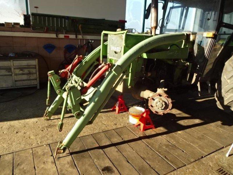 Baas trima frontlader von fendt mit hydraulischer gerätebetätigung