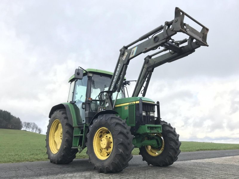 john deere 6210 se mit frontlader traktor 36396 steinau. Black Bedroom Furniture Sets. Home Design Ideas