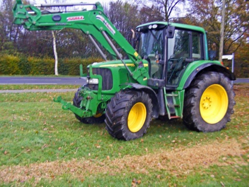 john deere 6420 frontlader druckluft traktor. Black Bedroom Furniture Sets. Home Design Ideas