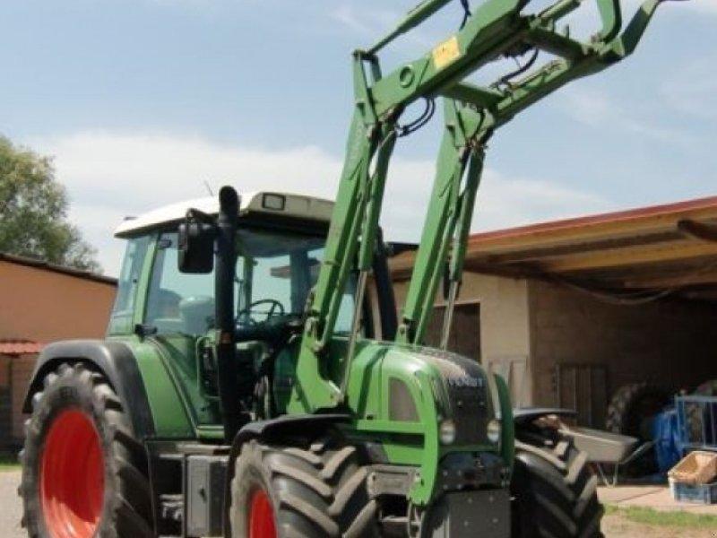 fendt farmer 410 vario mit frontlader traktor 86497. Black Bedroom Furniture Sets. Home Design Ideas